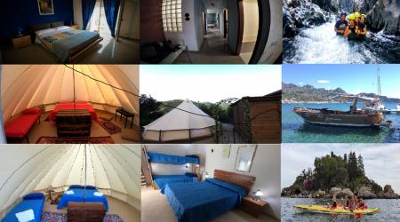 1 Notte in Campeggio a Motta Camastra